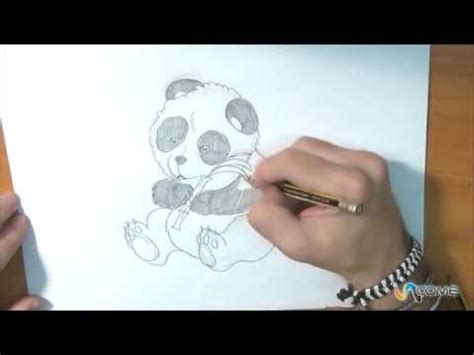 disegnare  panda youtube