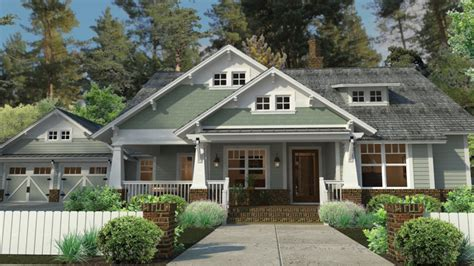 Craftsman Style House Plans With Porches Craftsman House