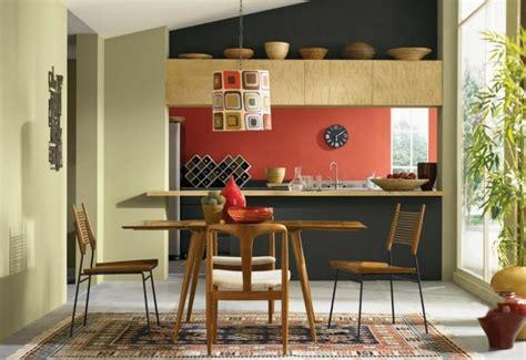 couleur murs cuisine peinture cuisine 40 idées de choix de couleurs modernes