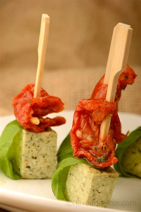 canaper but vegan canapés flavourphotos