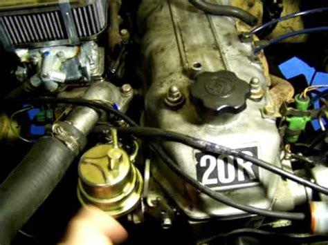 toyota  fuel pump part  youtube