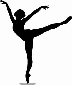 Free coloring pages of dance silhouette
