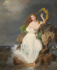 File:'The Harp of Erin', oil on canvas painting by Thomas ...