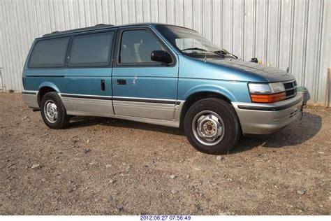 1993 Dodge Caravan 1993 dodge grand caravan photos informations articles