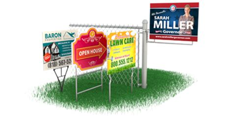 Custom Backyard Signs by Custom Yard Signs