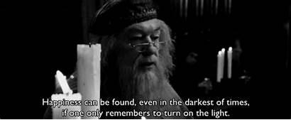 Found Darkest Happiness Even Turn Hogwarts Quote