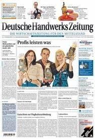 Zeitung Selbst Gestalten : deutsche handwerks zeitung zeitschrift abo ~ Fotosdekora.club Haus und Dekorationen