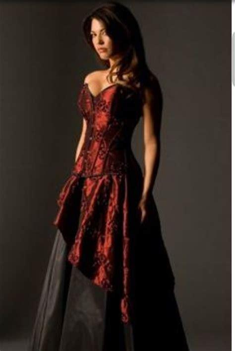 Dark red dress   Red Dress   Pinterest