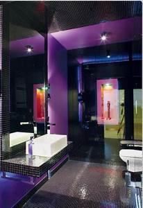 purple bathroom bathrooms pinterest With deep purple bathroom