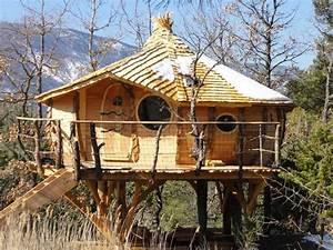 Constructeur Cabane Dans Les Arbres : abane cabanes de france ~ Dallasstarsshop.com Idées de Décoration