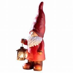 Dänisches Bettenlager Laterne : weihnachtswichtel mit laterne frostsicher rot ~ Watch28wear.com Haus und Dekorationen