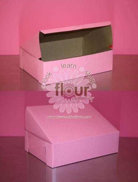 xx strawberry  sheet cake box