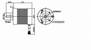 Brushless 3 Phase Dc Motor Round Nema 23 Brushless Motor 4