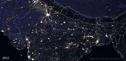 India Map Nasa Night Fascinating Buzzfeed Space