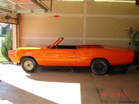 1968 Dodge Coronet 500 Convertible Bucket Seat Console