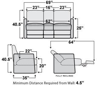 qualitex monument rv double recliner sofa rv furniture shopseatscom