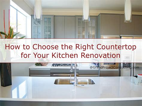 choosing the right kitchen countertops hgtv the right countertop for your kitchen renovation