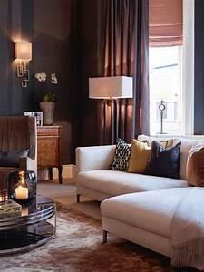 Bright Inspiration Warm Living Room Ideas Home Design On ...