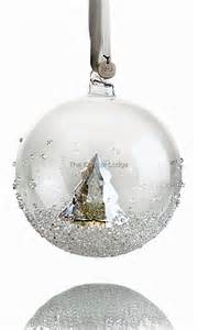 swarovski swarovski 2013 christmas ball ornament 5004498 swarovski crystal