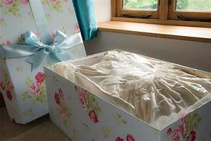 Wedding dress storage boxes acid free wedding dress boxes for Wedding dress storage box