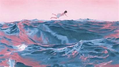 Mitski Pearl Ocean Spotify 4d Animation Render