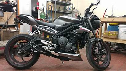 Triple Street Exhaust Triumph Thread Rs Toce