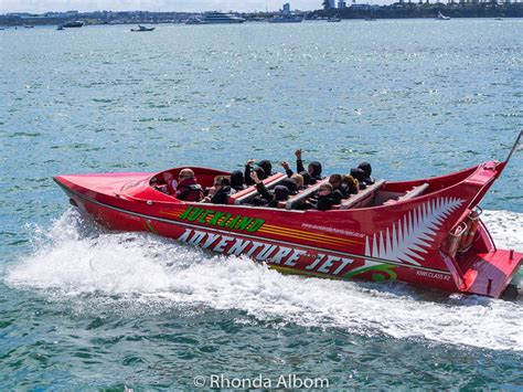 Jet Boat Waterfront by 13 Adrenaline Activities And Things To Do In