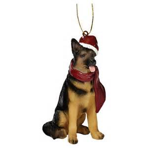 german shepherd holiday ornament give pinterest