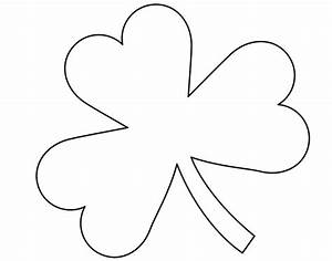 atta girl says ideas to make your home brighter and your With shamrock cut out template