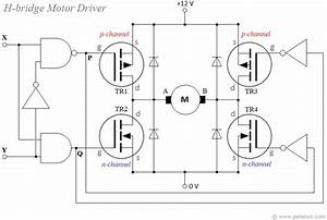 H Bridge Driver For Dc Motor Using Mosfets