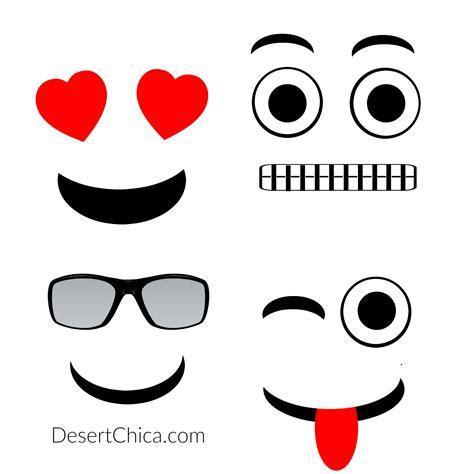 diy emoji faces templatepng  diy canvas art