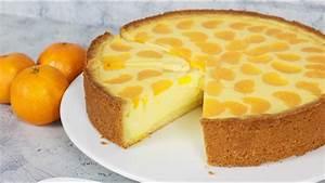 Mandarinen Quark Kuchen Blech