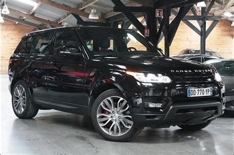 rang rover sport occasion land rover range rover sport ii v8 5 0l supercharged 510ch 4x4 occasion 99 900 6 500 km
