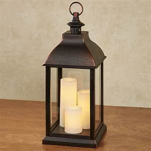 Beacon, Hill, Large, Indoor, Outdoor, Lantern, With, Flameless, Led, Candles