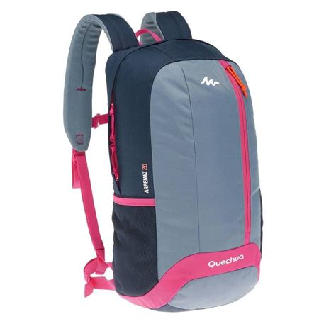 grey stand nh100 20 l back pack ppl gry decathlon
