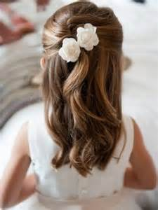 coiffure mariage fillette coiffure fille 90 idées pour votre princesse