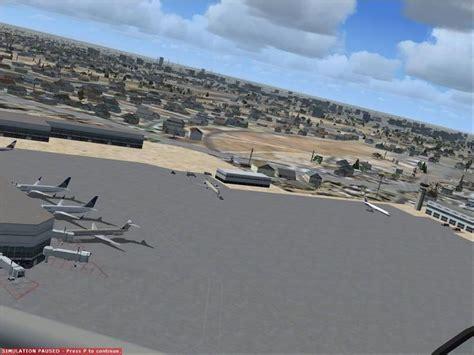 Fresno Yosemite Airport Scenery For Fsx
