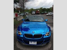 Blue Chrome BMW E63 M6 Hails from Canada autoevolution