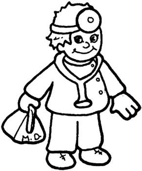 coloring pages printable doctors coloring pages