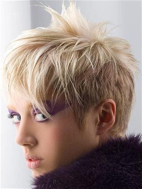 glam rock short hair styles