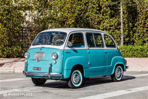 Fiat Multipla 600 by 1962 Fiat 600 Multipla Petrolicious