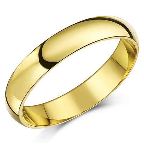 9ct yellow gold ring heavy court shaped wedding ring band ebay