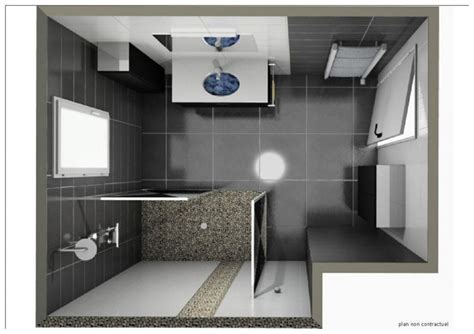 amenagement chambre 12m2 plan salle de bains 3d idées déco salle de bain