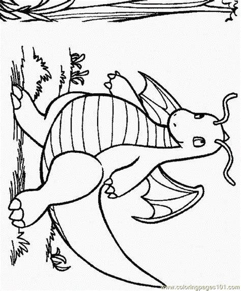 dragon pokemon coloring page  dragon pokemon