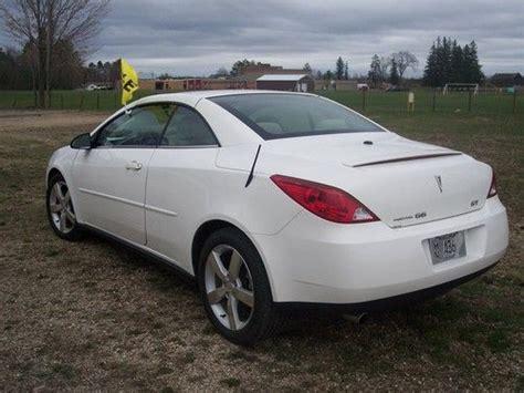 Buy Used 2006 Pontiac G6 Gt Convertible 2-door 3.5l In