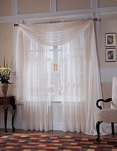 sears drapery panels colormate platinum voile window curtain panels