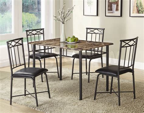 Metal Dining Room Set Marceladickcom