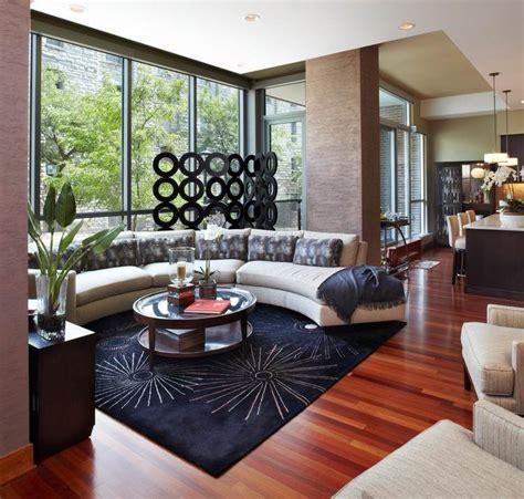 canap demi cercle canapé demi lune et canapé rond 55 designs spectaculaires