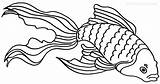 Goldfish Coloring Printable Pages Bowl Drawing Fish Cool2bkids Getcoloringpages Getdrawings Getcolorings sketch template