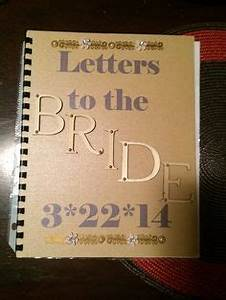 letters to the bride i created this book for my sister i With letters to my sister book